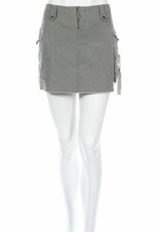 Φούστα Denim&Co., Μέγεθος L, Χρώμα Γκρί, 100% βαμβάκι, Τιμή 4,62€