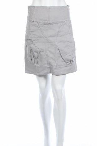 Пола Elle, Размер M, Цвят Сив, 98% памук, 2% еластан, Цена 6,28лв.