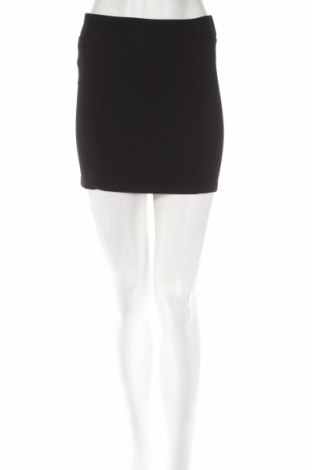 Пола H&M Divided, Размер M, Цвят Черен, 96% полиестер, 4% еластан, Цена 5,51лв.
