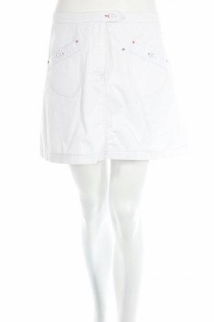 Пола H&M L.o.g.g, Размер M, Цвят Бял, 97% памук, 3% еластан, Цена 4,59лв.