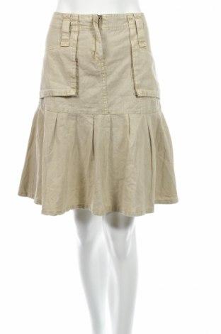 Пола Refree, Размер M, Цвят Бежов, 50% памук, 50% лен, Цена 7,50лв.