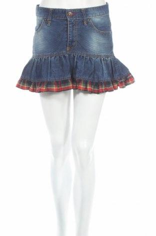 Пола Retro Jeans, Размер S, Цвят Син, 47% памук, 53% полиестер, Цена 4,79лв.