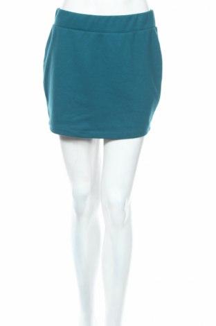 Φούστα Terranova, Μέγεθος L, Χρώμα Μπλέ, 75% πολυεστέρας, 20% βαμβάκι, 5% ελαστάνη, Τιμή 5,53€