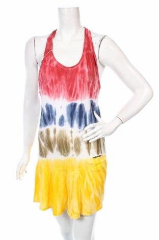 Sukienka Dsquared2, Rozmiar S, Kolor Kolorowy, 70% bawełna, 30% len, Cena 140,00zł