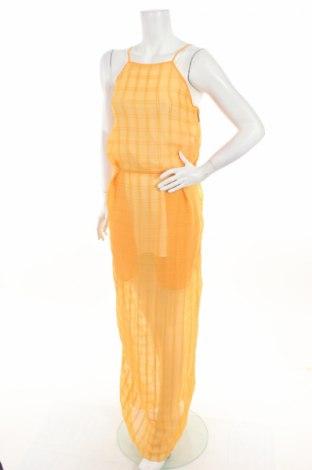 Šaty  MSGM, Veľkosť S, Farba Oranžová, Polyester, Cena  66,71€