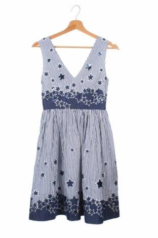 Šaty  Manoush, Veľkosť XS, Farba Modrá, Bavlna, Cena  26,81€