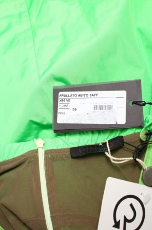 Рокля Pinko, Размер XXS, Цвят Зелен, Полиестер, Цена 261,75лв.