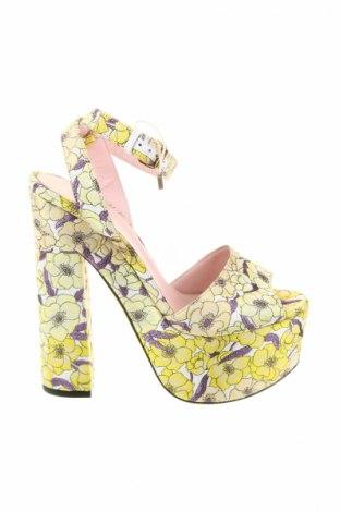 Sandály  Giamba, Veľkosť 38, Farba Žltá, Textil, Cena  129,72€