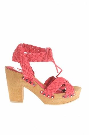 Sandały L' Autre Chose, Rozmiar 41, Kolor Różowy, Skóra naturalna, Cena 189,23zł