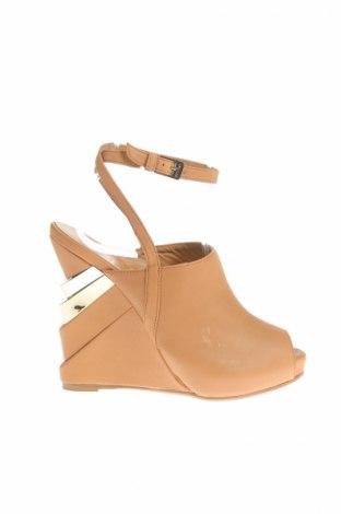 Sandály  Le Silla, Veľkosť 36, Farba Hnedá, Pravá koža , Cena  98,66€