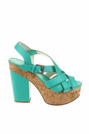 Sandale Ralph Lauren, Mărime 38, Culoare Albastru, Piele naturală, Preț 555,56 Lei