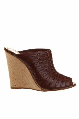 Sandále Santoni, Veľkosť 40, Farba Hnedá, Pravá koža , Cena  118,43€