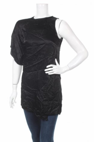 Туника Zara, Размер XS, Цвят Черен, Вискоза, Цена 8,00лв.