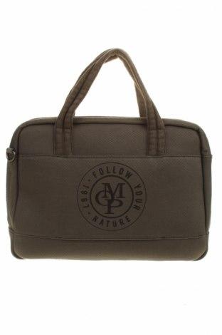 Чанта за документи Marc O'polo, Цвят Зелен, Текстил, Цена 108,12лв.