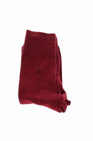 Ciorapi Calvin Klein, Mărime M, Culoare Roșu, Preț 41,68 Lei