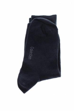 Ciorapi Calvin Klein, Mărime M, Culoare Albastru, Preț 57,89 Lei