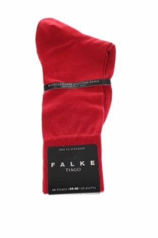 Ciorapi Falke, Mărime M, Culoare Roșu, 98% bumbac, 2% elastan, Preț 57,24 Lei