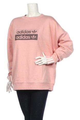 Γυναικεία μπλούζα Adidas, Μέγεθος XL, Χρώμα Ρόζ , Βαμβάκι, Τιμή 25,61€