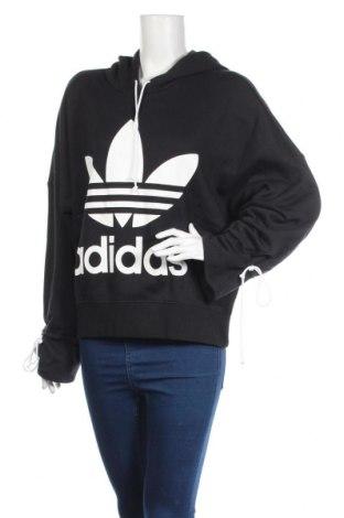 Dámska mikina  Adidas, Veľkosť S, Farba Čierna, Bavlna, Cena  38,21€