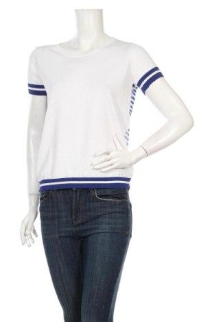 Дамска блуза Anis White, Размер XL, Цвят Бял, Вискоза, полиамид, полиестер, Цена 24,74лв.