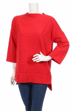 Дамска блуза French Connection, Размер M, Цвят Червен, 68% памук, 27% полиестер, 5% еластан, Цена 37,80лв.