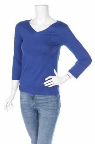 Дамска блуза Gate, Размер S, Цвят Син, Памук, Цена 7,89лв.