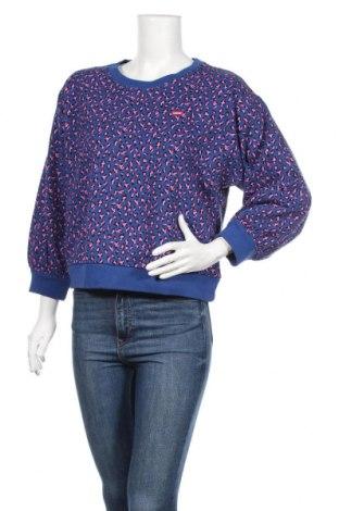 Дамска блуза Levi's, Размер M, Цвят Син, Памук, Цена 68,40лв.