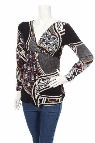 Дамска блуза Marc Cain, Размер L, Цвят Многоцветен, 48% памук, 43% вискоза, 9% полиамид, Цена 77,90лв.