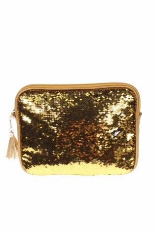 Dámska kabelka , Farba Zlatistá, Textil, iné materiály, Cena  6,86€