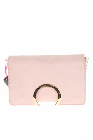 Dámská kabelka  Boohoo, Barva Růžová, Eko kůže, textile , Cena  261,00Kč