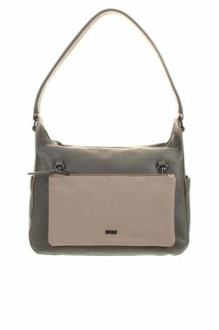 Γυναικεία τσάντα Bree, Χρώμα Γκρί, Γνήσιο δέρμα, Τιμή 59,36€