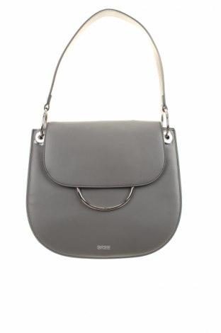 Γυναικεία τσάντα Bree, Χρώμα Γκρί, Γνήσιο δέρμα, Τιμή 52,14€