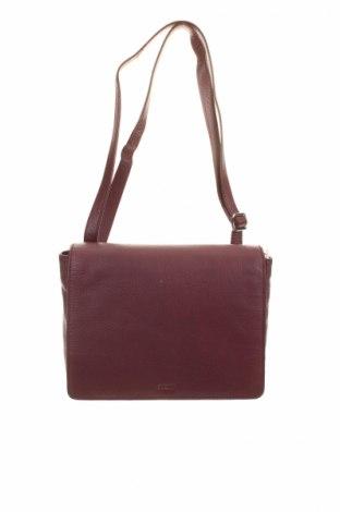 Γυναικεία τσάντα Bree, Χρώμα Κόκκινο, Γνήσιο δέρμα, Τιμή 48,53€