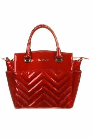 Dámská kabelka  Kazar, Barva Červená, Pravá kůže, Cena  1202,00Kč