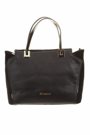 Dámska kabelka  Kazar, Farba Čierna, Pravá koža , Prírodný velur , Cena  39,89€