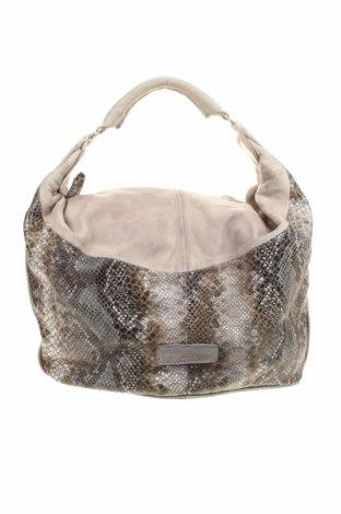 Γυναικεία τσάντα Liebeskind, Χρώμα Γκρί, Γνήσιο δέρμα, Τιμή 104,34€