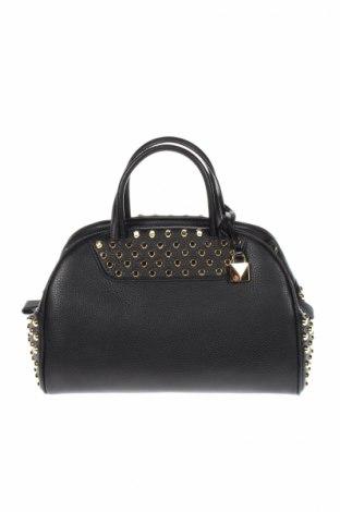 Дамска чанта MICHAEL Michael Kors, Цвят Черен, Естествена кожа, Цена 539,00лв.