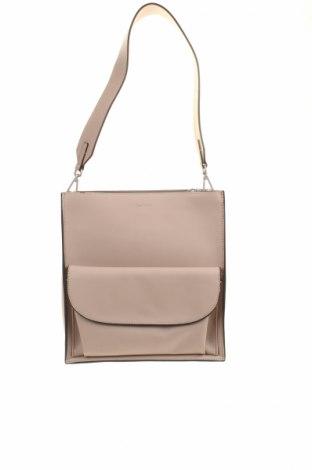 Γυναικεία τσάντα Marc O'polo, Χρώμα  Μπέζ, Γνήσιο δέρμα, Τιμή 65,48€