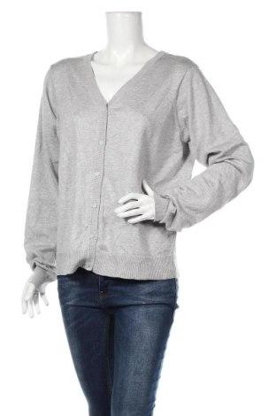 Γυναικεία ζακέτα Now, Μέγεθος XL, Χρώμα Γκρί, Βισκόζη, πολυεστέρας, Τιμή 14,00€