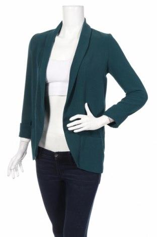 Γυναικεία ζακέτα Pimkie, Μέγεθος XS, Χρώμα Πράσινο, 98% πολυεστέρας, 2% ελαστάνη, Τιμή 22,14€