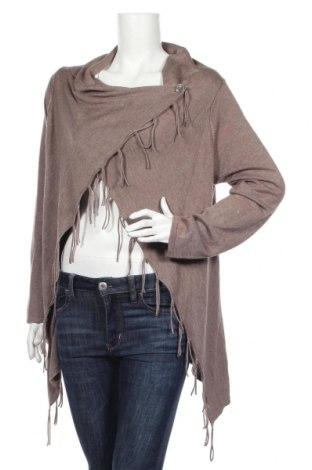Γυναικεία ζακέτα Tom Tailor, Μέγεθος XL, Χρώμα Καφέ, 53% βαμβάκι, 47% βισκόζη, Τιμή 28,01€