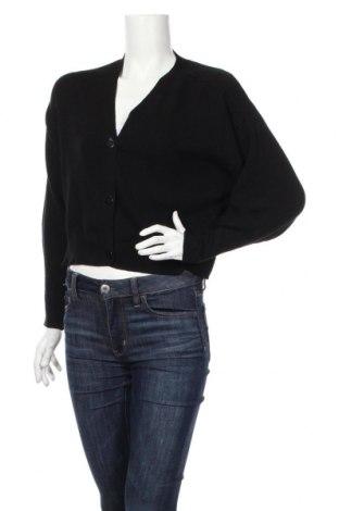 Γυναικεία ζακέτα Zara, Μέγεθος M, Χρώμα Μαύρο, Τιμή 18,46€
