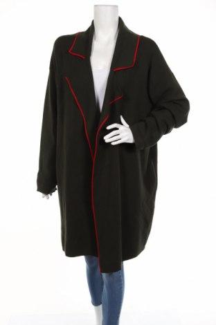 Γυναικεία ζακέτα Zara Knitwear, Μέγεθος L, Χρώμα Πράσινο, 53% βισκόζη, 27% πολυεστέρας, 20% πολυαμίδη, Τιμή 15,45€