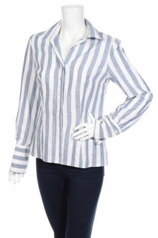 Γυναικείο πουκάμισο, Μέγεθος M, Χρώμα Μπλέ, Λινό, Τιμή 12,73€