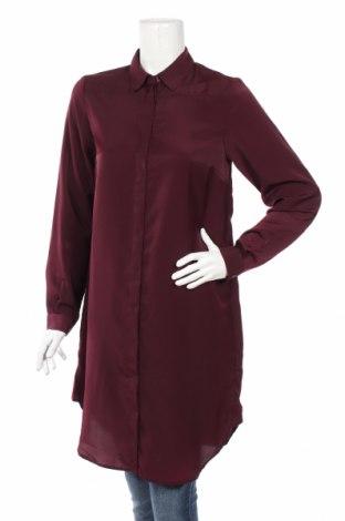Γυναικείο πουκάμισο Ahlens, Μέγεθος S, Χρώμα Κόκκινο, Πολυεστέρας, Τιμή 12,09€