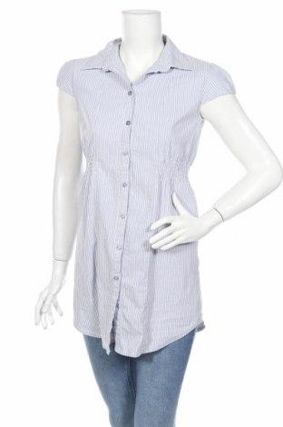 Γυναικείο πουκάμισο Clockhouse, Μέγεθος L, Χρώμα Μπλέ, Τιμή 15,28€
