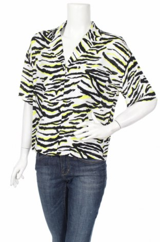 Дамска риза Cropp, Размер M, Цвят Многоцветен, Цена 6,00лв.