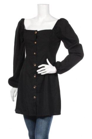 Γυναικείο πουκάμισο Glamorous, Μέγεθος M, Χρώμα Μαύρο, Πολυεστέρας, Τιμή 16,55€