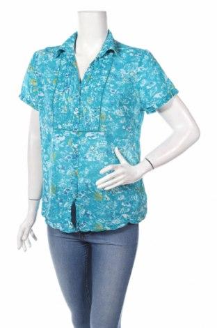 Γυναικείο πουκάμισο Nkd, Μέγεθος L, Χρώμα Μπλέ, Βαμβάκι, Τιμή 10,77€