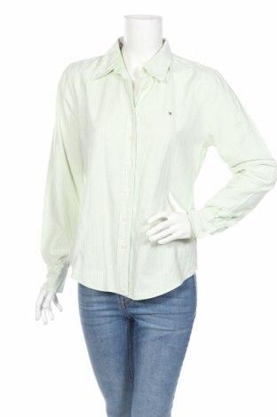 Γυναικείο πουκάμισο Tommy Hilfiger, Μέγεθος M, Χρώμα Πράσινο, Βαμβάκι, Τιμή 18,64€